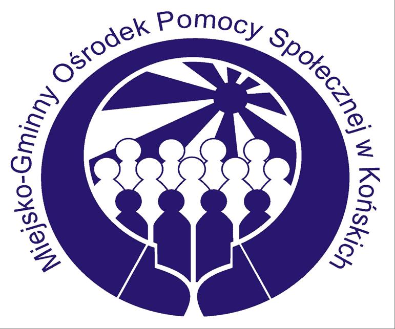 Logo Miejsko - Gminnego Ośrodka Pomocy Społecznej w Końskich